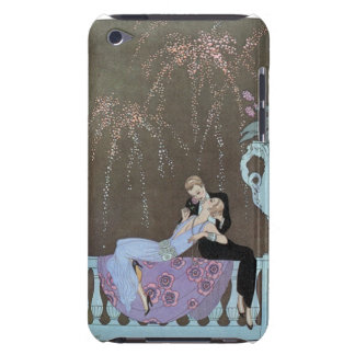 Kissing Couple Deco iPod Touch Case