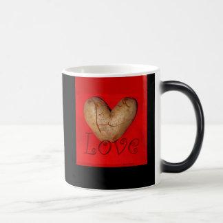Kissing Couple Love Potato 11 Oz Magic Heat Color-Changing Coffee Mug
