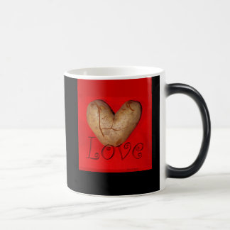 Kissing Couple Love Potato Magic Mug