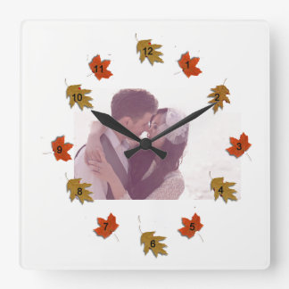 Kissing Cousins Square Wall Clock