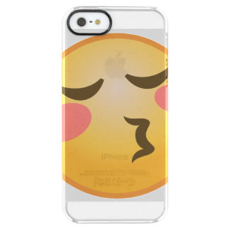 Kissing Emoji Clear iPhone SE/5/5s Case