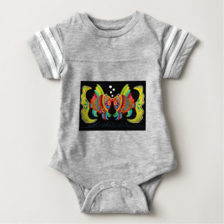 Kissing Fish Baby Bodysuit
