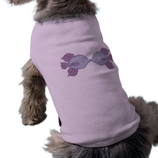 Kissing Fish Doggie Shirt