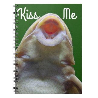 Kissing Fish Notebook