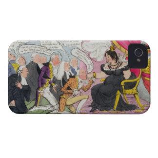 Kissing Hands, published 1827 (colour litho) iPhone 4 Case-Mate Case