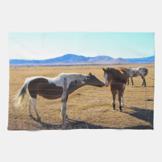 Kissing Horses Towel