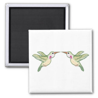 Kissing Hummingbirds Magnet