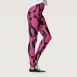 Kissing Mermaids Leggings
