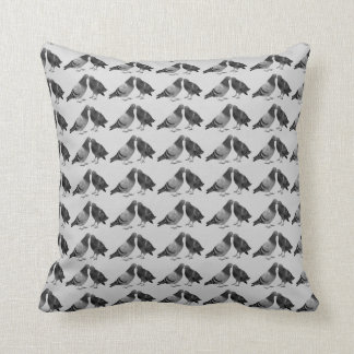 Kissing Pigeons Cushion