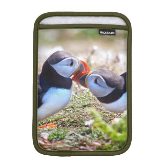 Kissing Puffins iPad Mini Sleeve