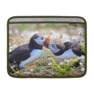 Kissing Puffins MacBook Air Sleeve