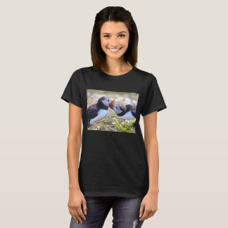 Kissing Puffins Tee