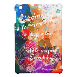 Kissing says everything iPad mini cover