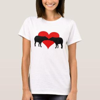 Kissing Tapirs T-Shirt