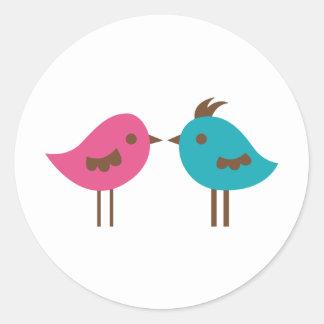 kissme2 classic round sticker