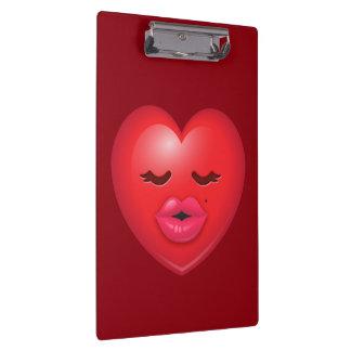 Kissy Emoji Clipboard