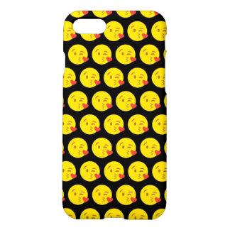 Kissy Face Emoji iPhone 7 Matte Case