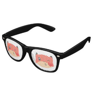 Kissy Face Fox Glasses