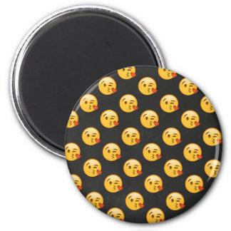 Kissy Face Love Emoji Magnet