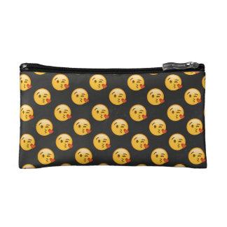 Kissy Face Love Emoji Makeup Bags
