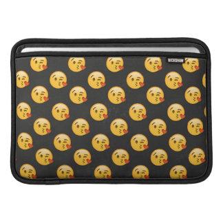 Kissy Face Love Emoji Sleeve For MacBook Air