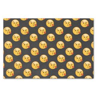 Kissy Face Love Emoji Tissue Paper