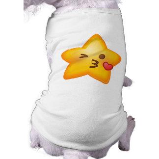 Kissy Face Star Emoji Shirt