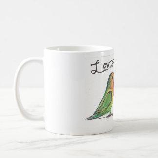 Kissy Lovebirds Mug