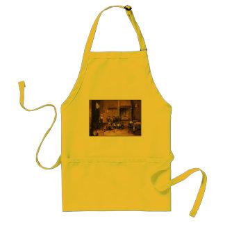 Kitchen Apron: Monkeys in Kitchen by Teniers Standard Apron