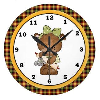 Kitchen Bear clock