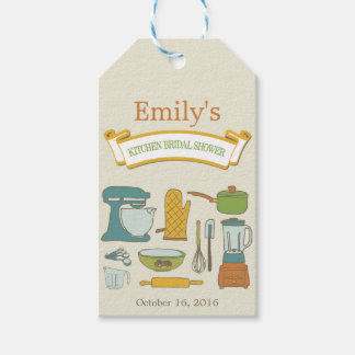 Kitchen Bridal Shower Gift Tag Pack Of Gift Tags