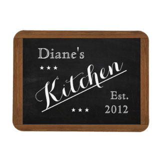 Kitchen Chalkboard Magnet (customizable)