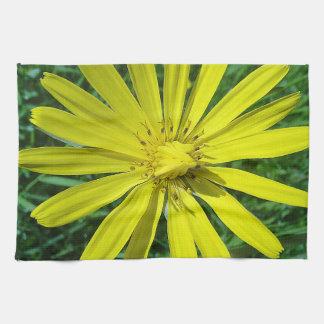 Kitchen cloth pretty yellow daisy hand towels