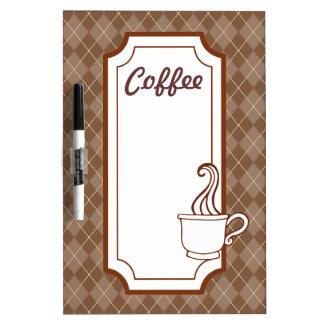 Kitchen Coffee Shop Dry Erase Board