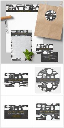 Kitchen Collage Brand Suite