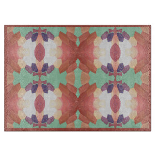 Kitchen Cutting Board-Coral/Blue/Purple/White Boards
