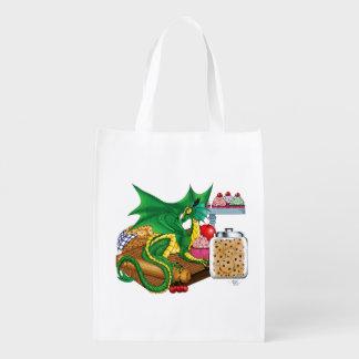 Kitchen Dragon Reusable Grocery Bag