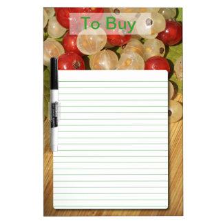 Kitchen Dry Erase Board