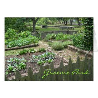 Kitchen Garden II Card