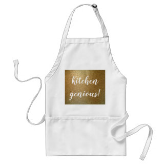 Kitchen genious, kitchen golden apron design