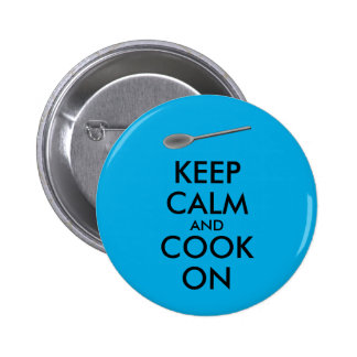 Kitchen Gifts Keep Calm and Cook On Spoon Button