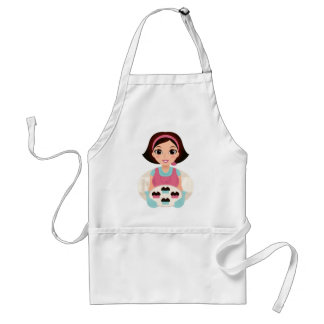 Kitchen girl with Cookies Standard Apron