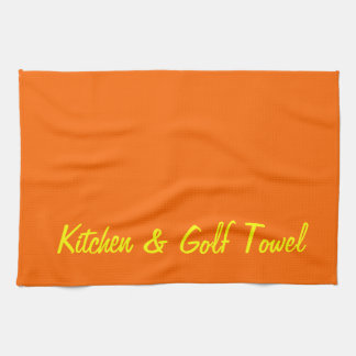 Kitchen & Golf Kitchen Towel