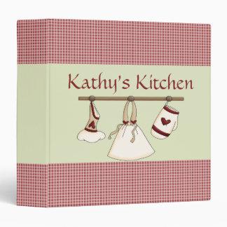 Kitchen Hearts Recipe Binder