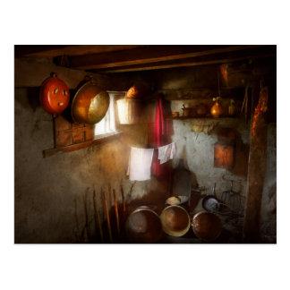 Kitchen - Homesteading life Postcard