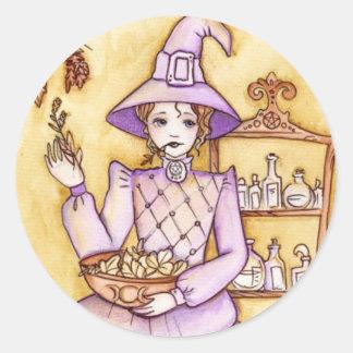 Kitchen Magic Round Sticker