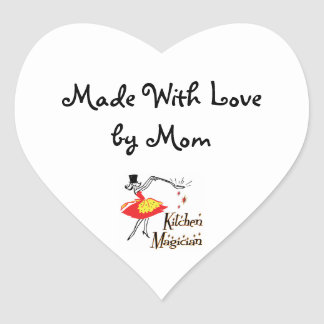 Kitchen Magician Custom Retro Mom Sticker