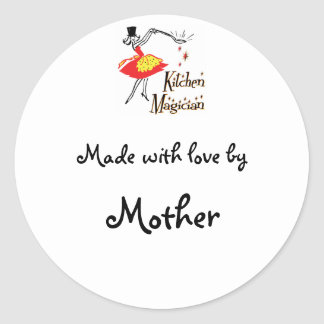 Kitchen Magician Customizable Cooking Sticker