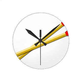 Kitchen Matches Round Clock