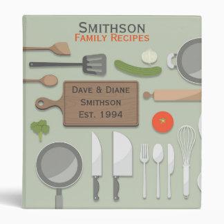 Kitchen Pantry Recipe Binder